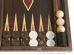 picture of Kelempeki-Leather Backgammon Set with Racks (8 of 12)