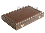 picture of Kelempeki-Leather Backgammon Set with Racks (9 of 12)