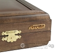 picture of Kelempeki-Leather Backgammon Set with Racks (12 of 12)