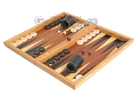 picture of Mahogany Backgammon Set with Colored Inlays (3 of 12)