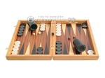 picture of Mahogany Backgammon Set with Colored Inlays (4 of 12)