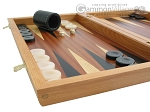 picture of Mahogany Backgammon Set with Colored Inlays (5 of 12)