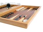 picture of Mahogany Backgammon Set with Colored Inlays (6 of 12)