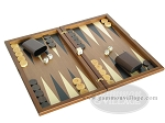 picture of Dal Negro Wood Backgammon Set - Walnut (2 of 10)