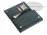picture of Double 6 Professional Dominoes in Wallet Style Leather Case (2 of 5)