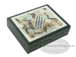 picture of Double 12 Venetian Dominoes in Dibond Box (2 of 7)