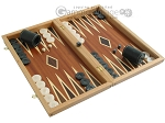 picture of Mahogany Backgammon Set with Double Inlays (2 of 12)
