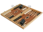picture of Mahogany Backgammon Set with Double Inlays (3 of 12)