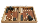 picture of Mahogany Backgammon Set with Double Inlays (4 of 12)
