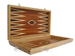 picture of Mahogany Backgammon Set with Double Inlays (7 of 12)