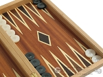 picture of Mahogany Backgammon Set with Double Inlays (10 of 12)