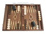 picture of Carved Maple Backgammon Set with Racks - Eagle (1 of 12)