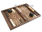 picture of Carved Maple Backgammon Set with Racks - Eagle (2 of 12)