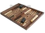 picture of Carved Maple Backgammon Set with Racks - Eagle (3 of 12)
