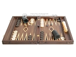 picture of Carved Maple Backgammon Set with Racks - Eagle (4 of 12)