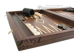 picture of Carved Maple Backgammon Set with Racks - Eagle (5 of 12)