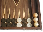 picture of Carved Maple Backgammon Set with Racks - Eagle (8 of 12)