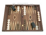 picture of Carved Maple Backgammon Set with Racks - Dragon (1 of 12)