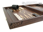 picture of Carved Maple Backgammon Set with Racks - Dragon (5 of 12)