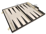 picture of 18-inch Deluxe Backgammon Set - Black (9 of 11)