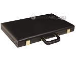 picture of 18-inch Deluxe Backgammon Set - Black (11 of 11)