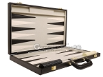 picture of 15-inch Deluxe Backgammon Set - Black (10 of 11)