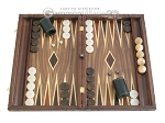 picture of Carved Maple Backgammon Set with Racks - Byzantine (1 of 12)
