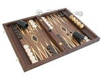 picture of Carved Maple Backgammon Set with Racks - Byzantine (2 of 12)