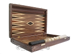 picture of Carved Maple Backgammon Set with Racks - Byzantine (7 of 12)