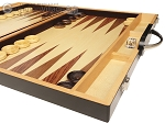 picture of 18-inch Wood Backgammon Set - Zebra Wood (6 of 11)