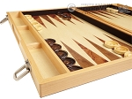 picture of 18-inch Wood Backgammon Set - Olive Wood (5 of 11)