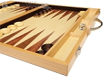 picture of 18-inch Wood Backgammon Set - Olive Wood (6 of 11)