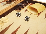 picture of 18-inch Wood Backgammon Set - Olive Wood (8 of 11)