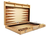 picture of 18-inch Wood Backgammon Set - Olive Wood (10 of 11)