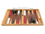 picture of Mahogany Backgammon Set with Racks (4 of 12)