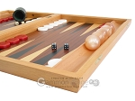 picture of Mahogany Backgammon Set with Racks (6 of 12)