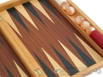 picture of Mahogany Backgammon Set with Racks (10 of 12)