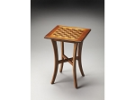 Maxwell Olive Ash Burl Chess Table - Item: 4003