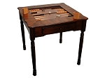 Chess / Checkers / Backgammon Table [31 1/2in.] - Item: 3217