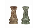 picture of 16in. Green and Tan Marble Chess Set (2 of 2)