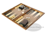 picture of Dal Negro Wood Backgammon Set - Walnut (3 of 10)