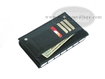 Double 6 Professional Dominoes in Wallet Style Leather Case - Item: 1998
