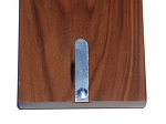 picture of Solid Walnut 3 Track Cribbage Board with Inlay (3 of 3)