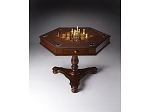 Alexander Plantation Cherry Hexagonal Game Table - Item: 4006