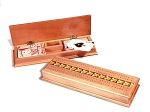 2605 - Deluxe Cribbage Box - Item: 306