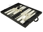 picture of Dal Negro Eco Leather Backgammon Set - Black (3 of 10)