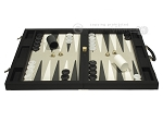 picture of Dal Negro Eco Leather Backgammon Set - Black (4 of 10)