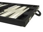 picture of Dal Negro Eco Leather Backgammon Set - Black (6 of 10)