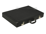 picture of Dal Negro Eco Leather Backgammon Set - Black (9 of 10)