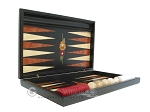 picture of Black Backgammon Set with Racks - Flower (7 of 12)